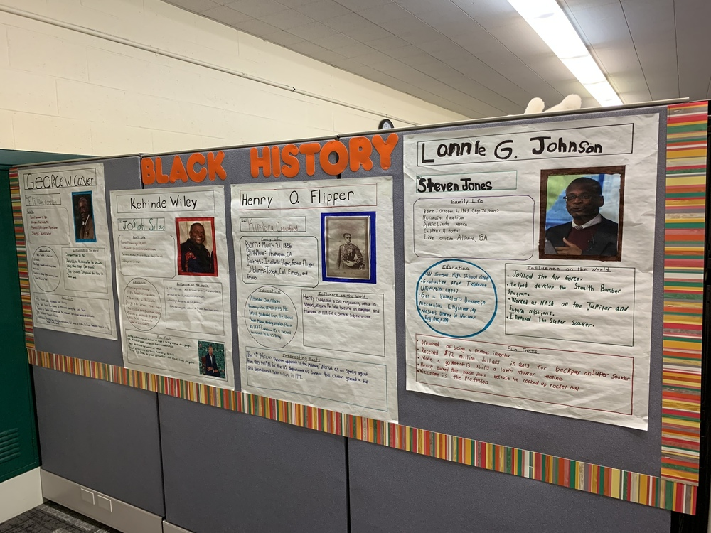 BLACK HISTORY MONTH AT MSSC