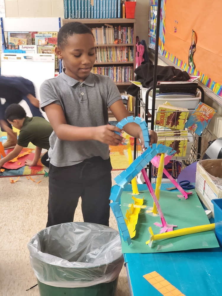 Students Enjoy S.T.E.A.M. Roller coaster design