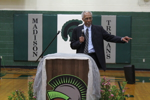 Don Freeman, Timeless Trojan Gym Dedication